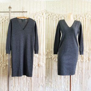 {euc} Ralph Lauren 100% Merino Wool Sweater Dress
